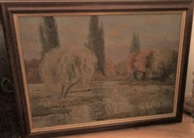 """Landschaftsbild"""" wohl Romantik des beginnenden 20 Jh"""