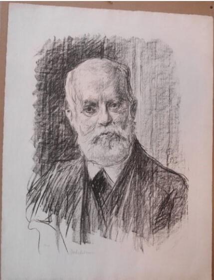 "Liebermann Max, ""Karl Kautsky , 191"