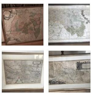 Vier Landkarten