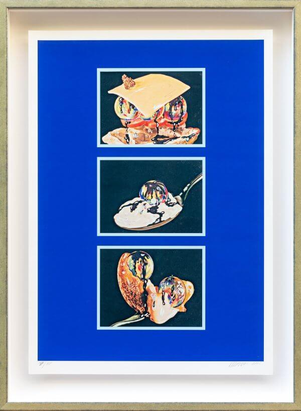 "3.) ""Fingerimbiss 1965"", original autorisiertes Werk Christian Ludwig Attersee"